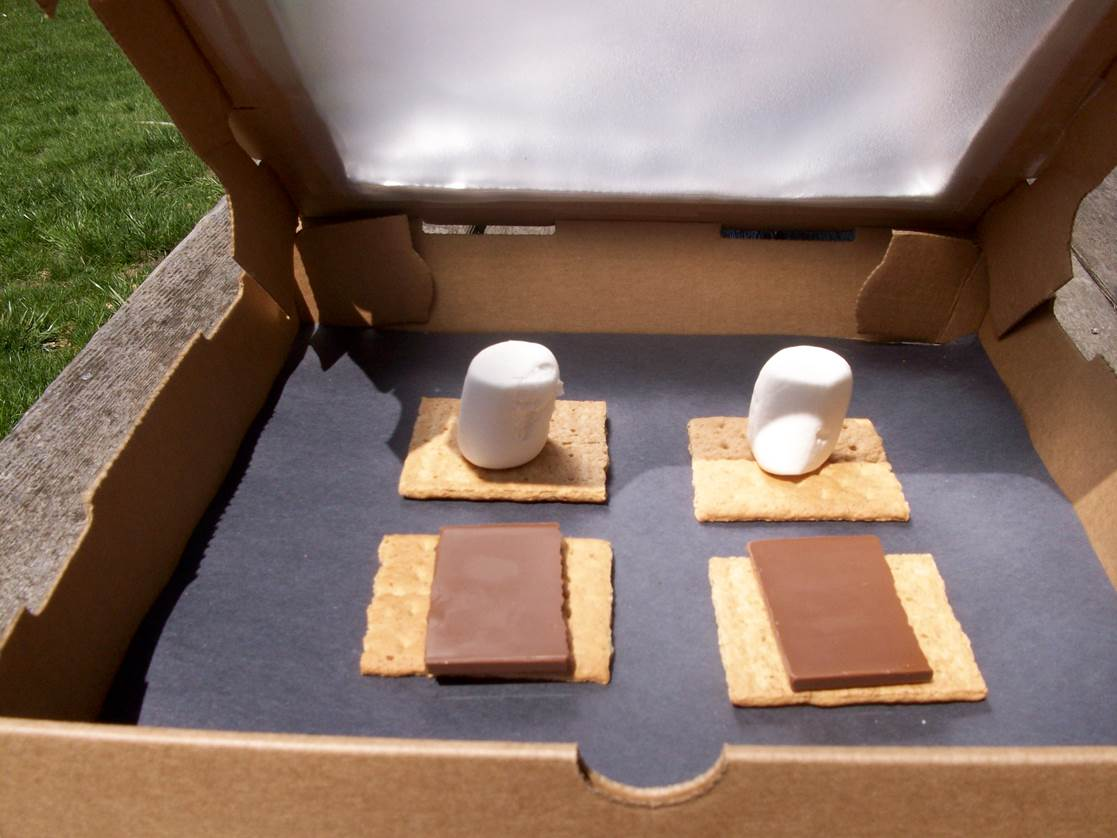 Making A Solar Oven With Students Who Are Blind Or