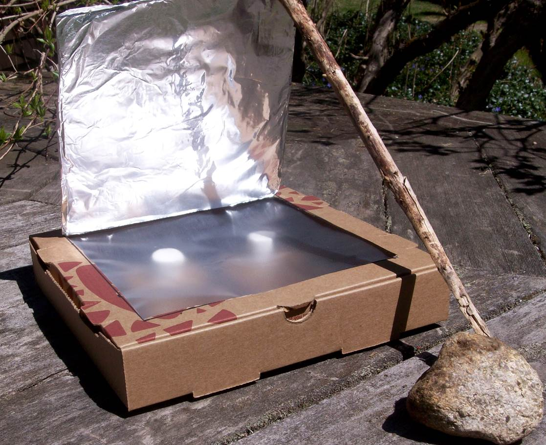 Making a solar oven with students who are blind or for How to build a solar oven for kids