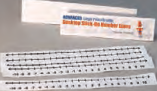 APH Advanced Desk Top Stick-On Number Lines