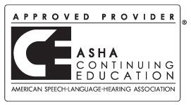 ASHA Approved logo.