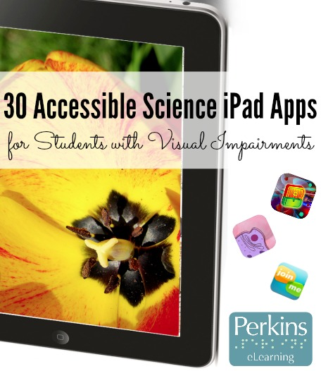 30 accessible iPad apps collage