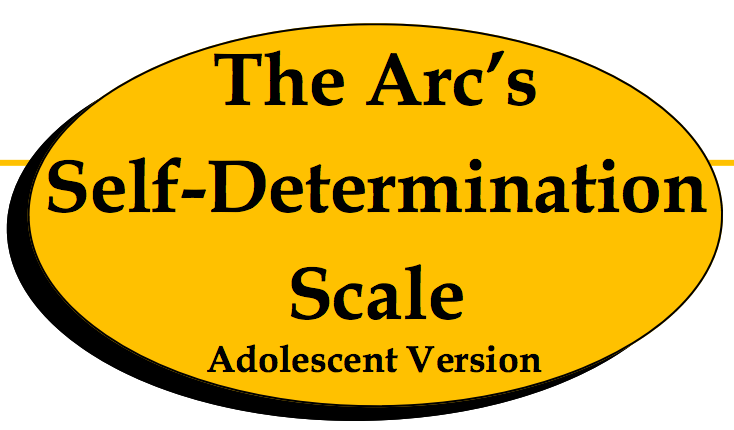 Arc's self-determination scale