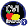 Micro-credential graphic for Cortical Visual Impairment-The Basics.