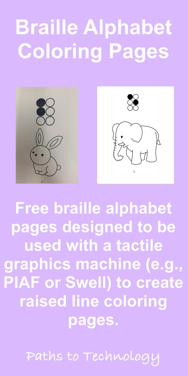 Braille Alphabet Coloring Pages Pinterest tag