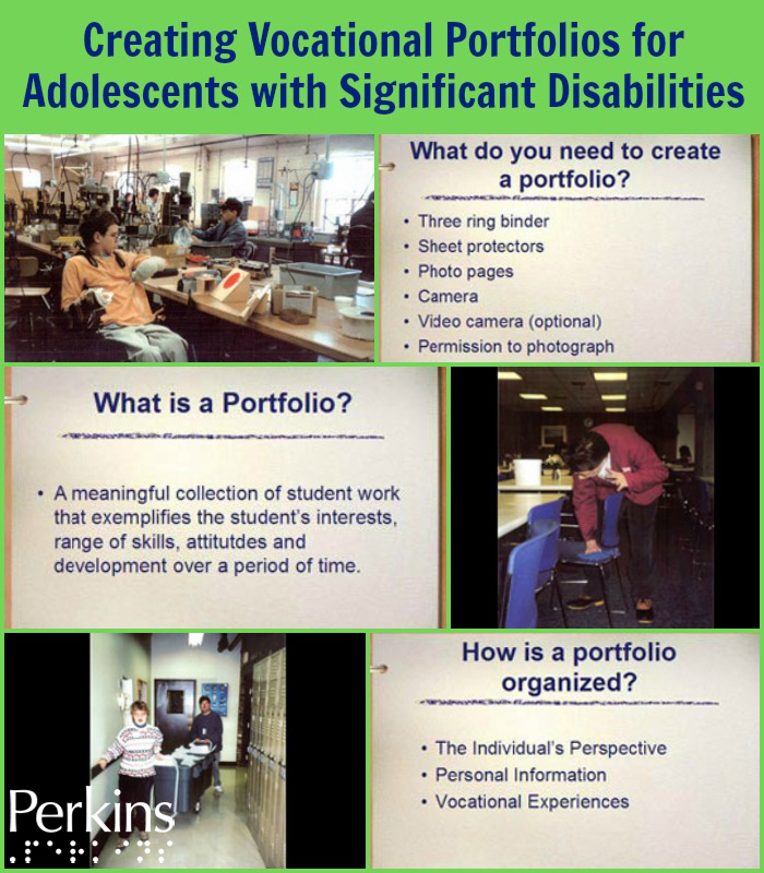 Creating Vocational Portfolios for Adolescents with Significant Disabilities with Mary Zatta.