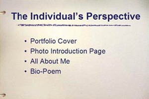The Individual's Perspective Component.