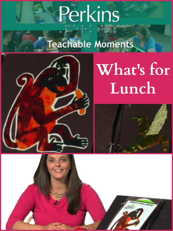 Megan talks about her adapted version of Eric Carls book, What's for Lunch.