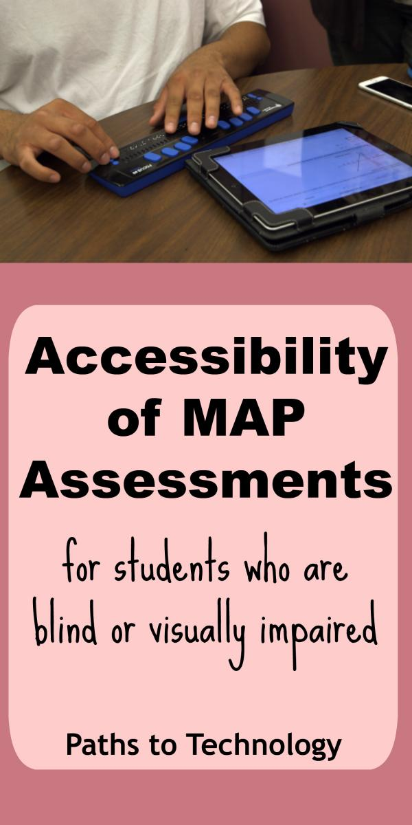 Collage of MAP assessment