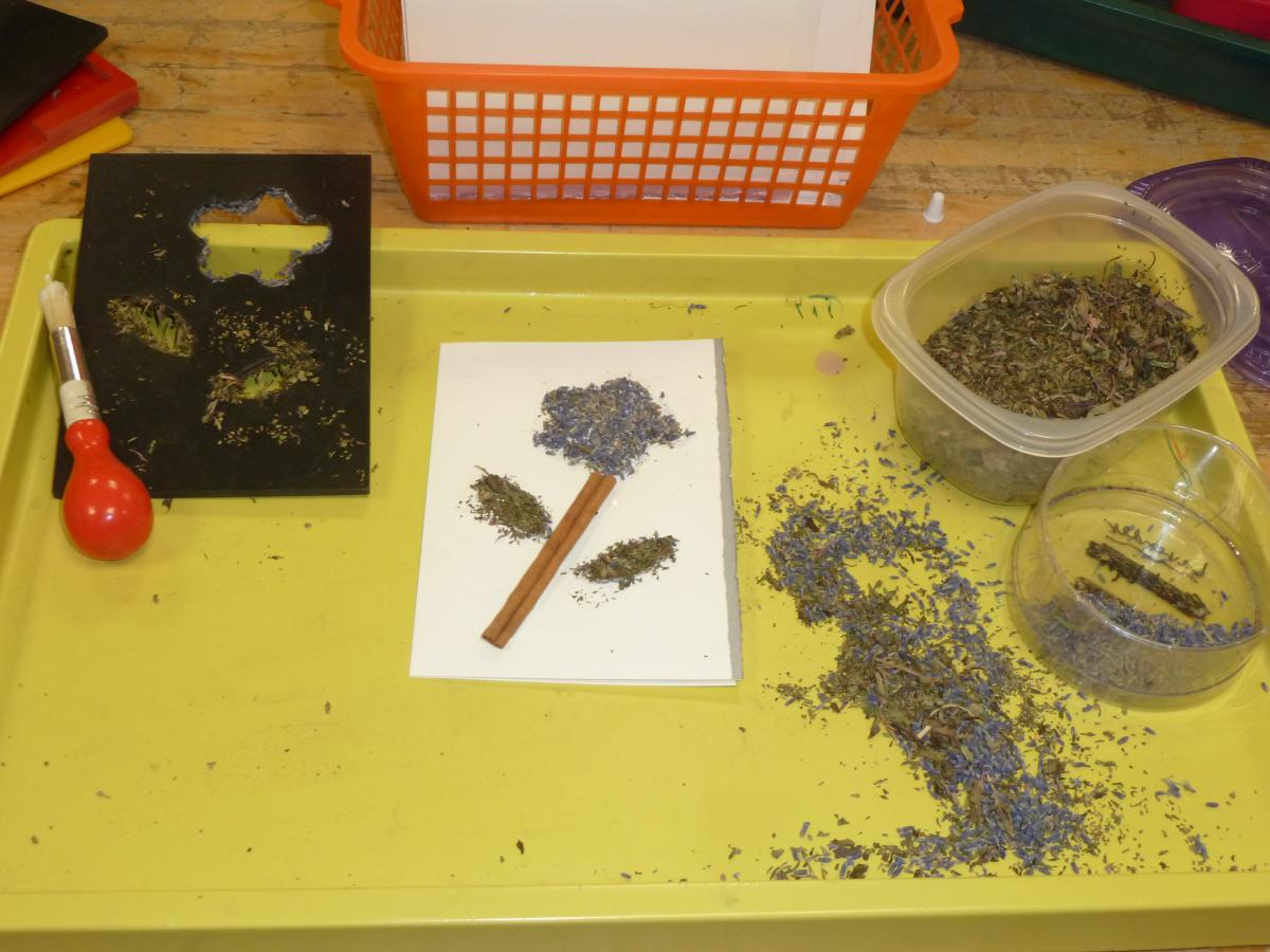Herb card production
