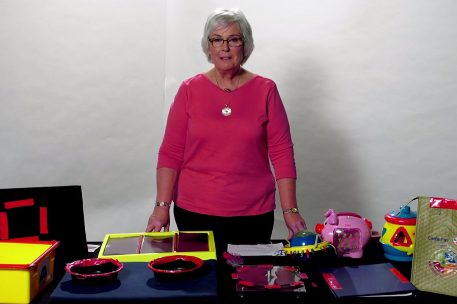 Ellen Mazel talks about color highlighting for children with Cortical Visual Impairment.