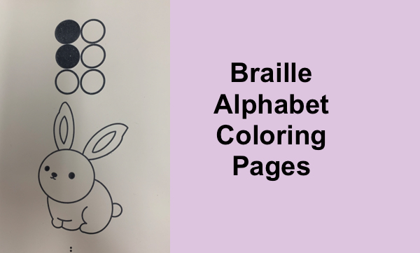 Braille Alphabet Coloring Pages Paths To Technology Perkins ELearning