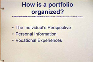 Creating Vocational Portfolios for Adolescents with