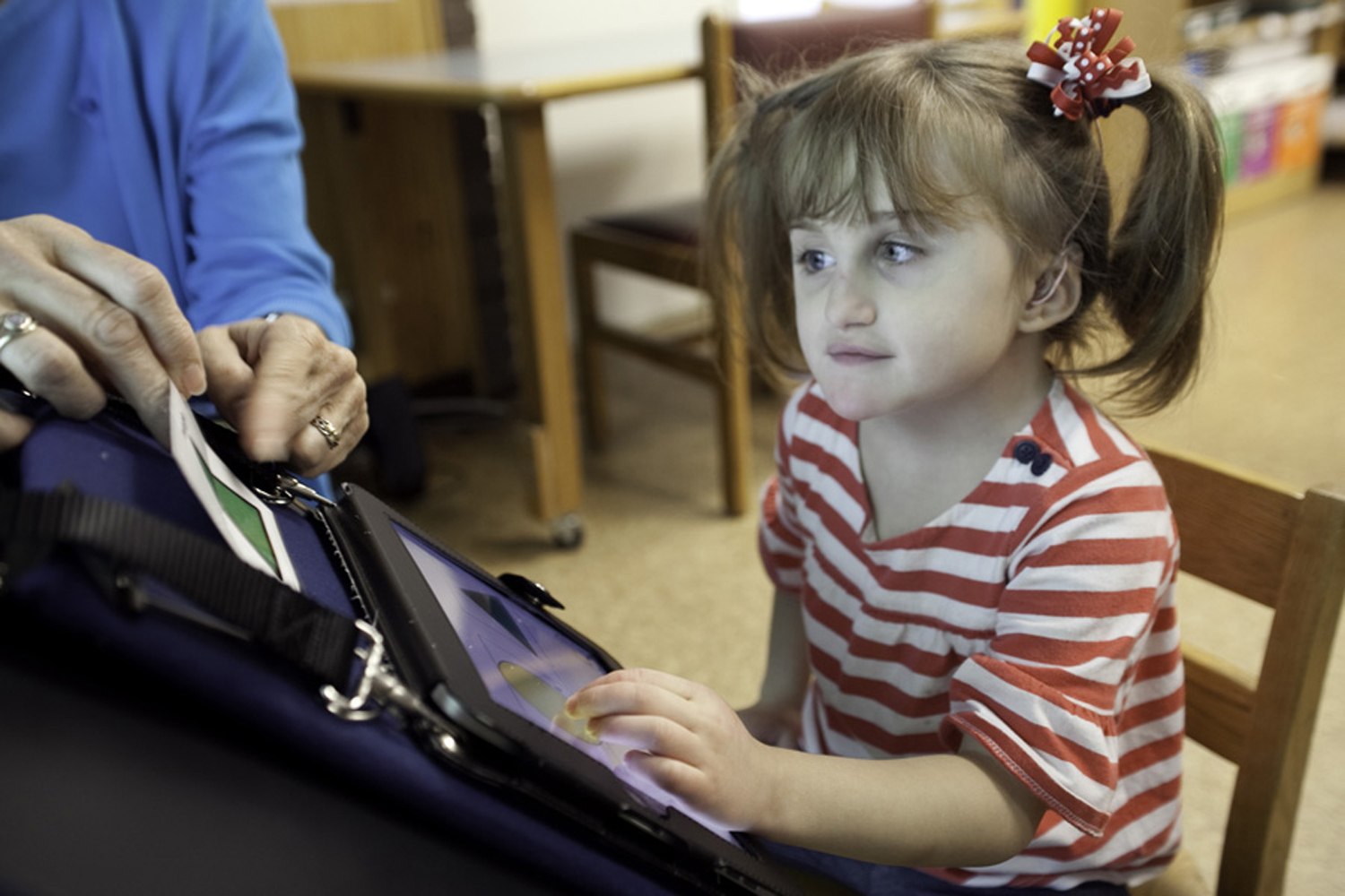 The Use Of Aac With Students With Visual Impairments And