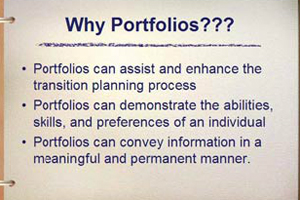 Why Create Portfolios for Transition?