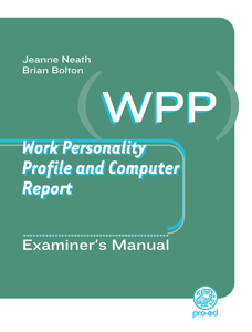 Work Personality Profile and Computer Report cover