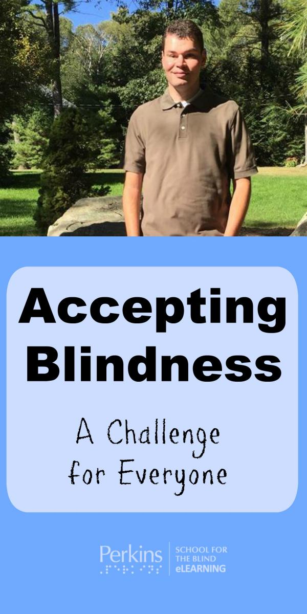 Collage for accepting blindness
