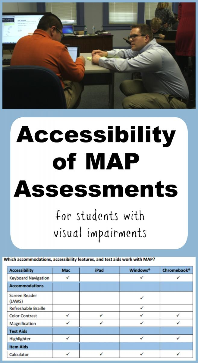 Collage of MAPS accessibility