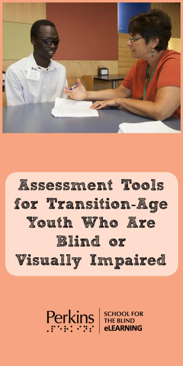Collage for assessment tools for transition-age youth