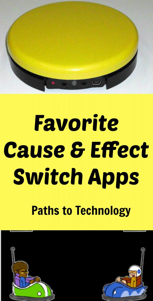 Collage of favorite cause and effect switch apps