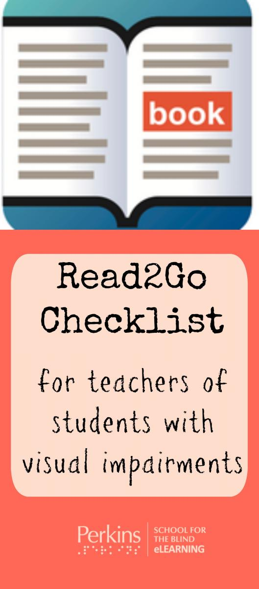 Read2Go App Checklist Paths To Technology Perkins ELearning