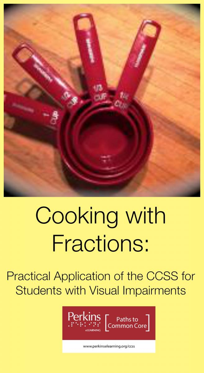 Cooking with fractions - measuring cups