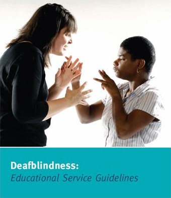 Deafblindness: Educational Service Guidelines Cover Photo