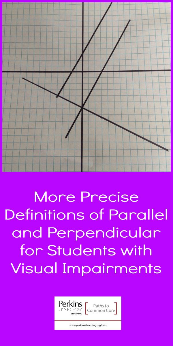 Collage of parallel and perpendicular lines