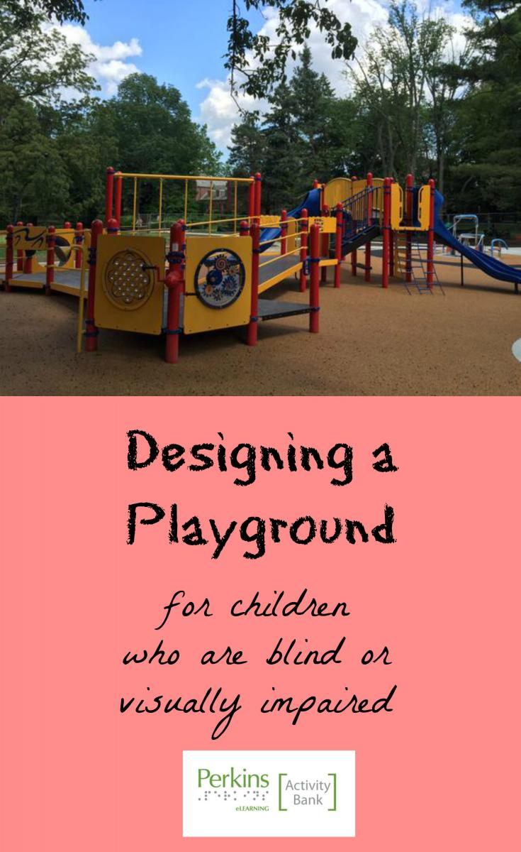 Collage of designing a playground