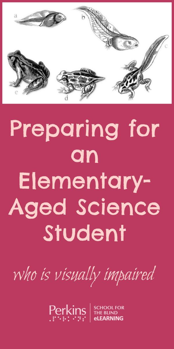 Pinterest collage of preparing for elementary aged science student