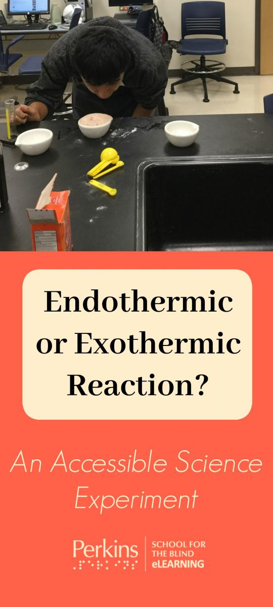 Collage of endothermic reaction