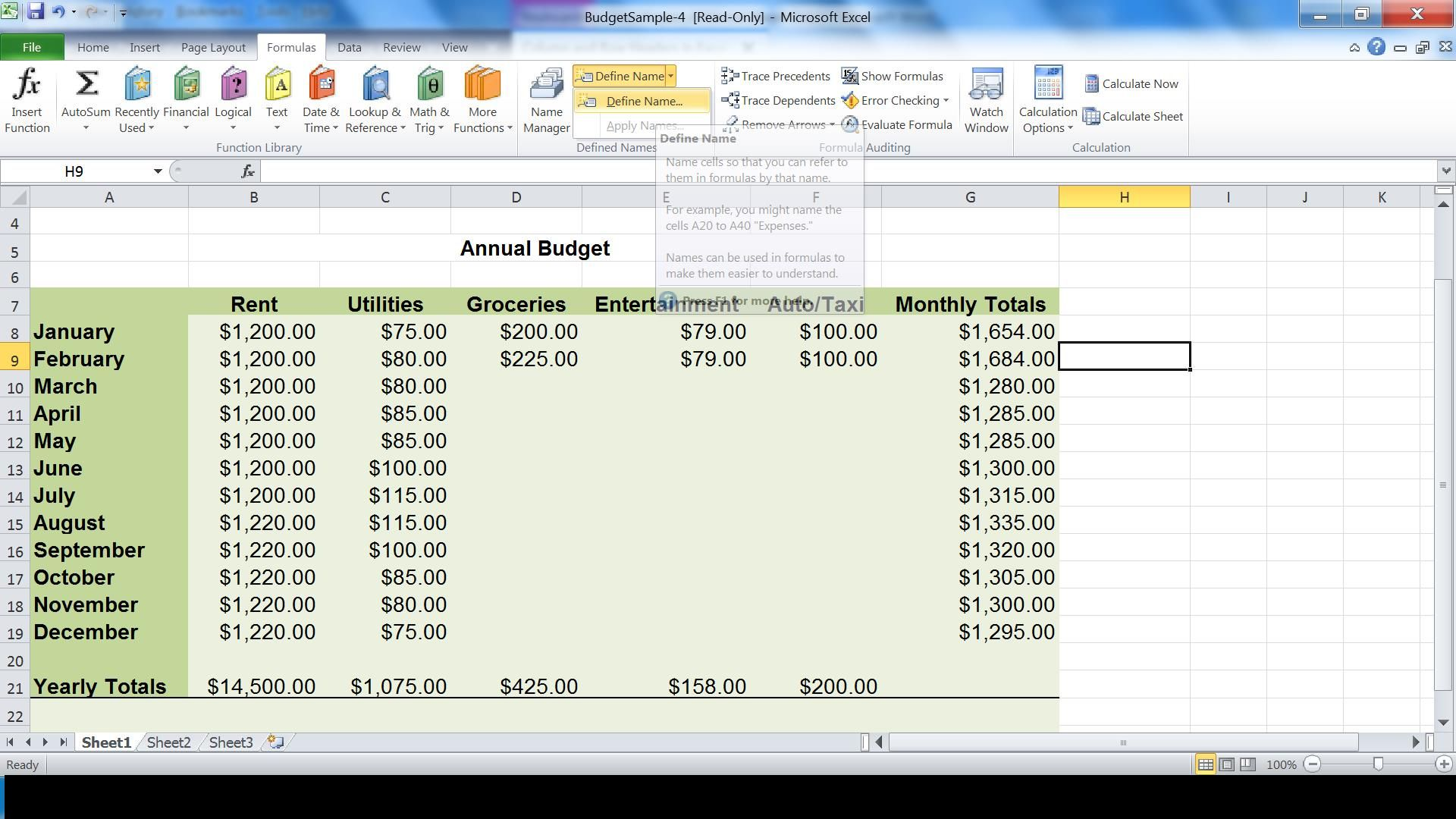 Excel Accessibility: Screenreader speaking of Row and Column Headers ...