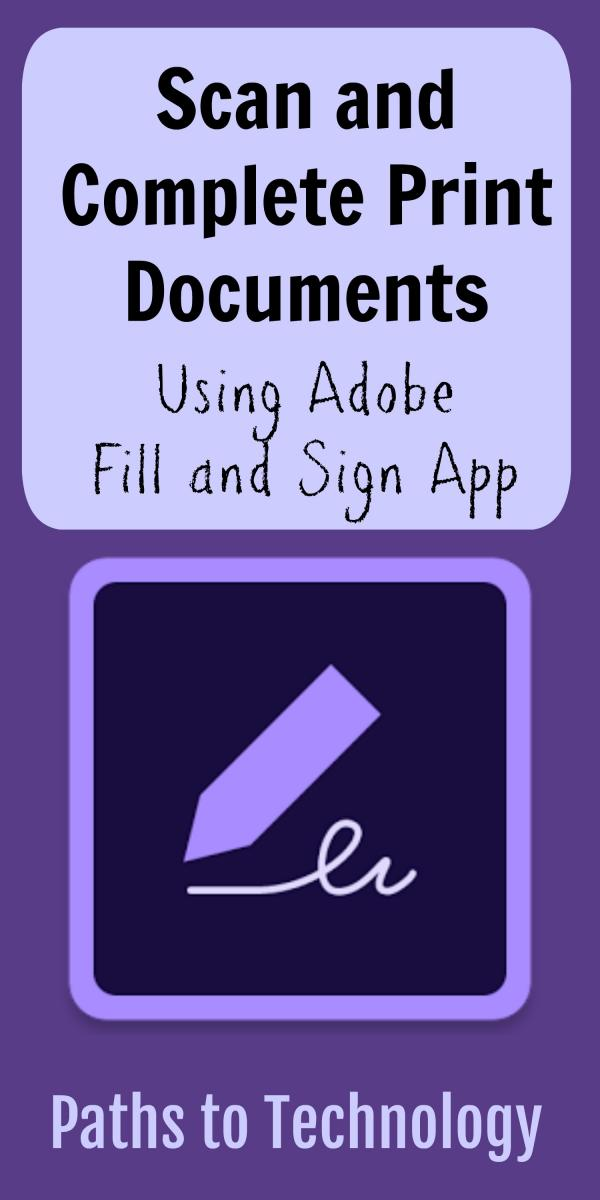 Collage of Fill and Sign app
