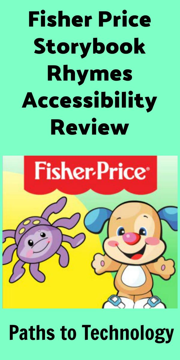 Collage of Fisher-Price Storybook apps