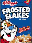 Frosted Flakes cereal logo.