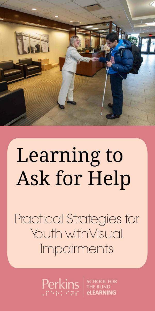 Collage of learning to ask for help