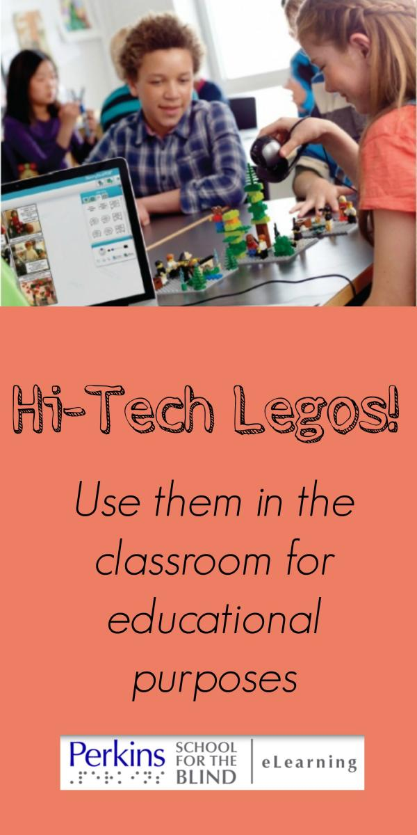 Pinterest collage of hi-tech legos