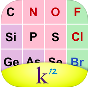 k12 periodic table of the elements app icon