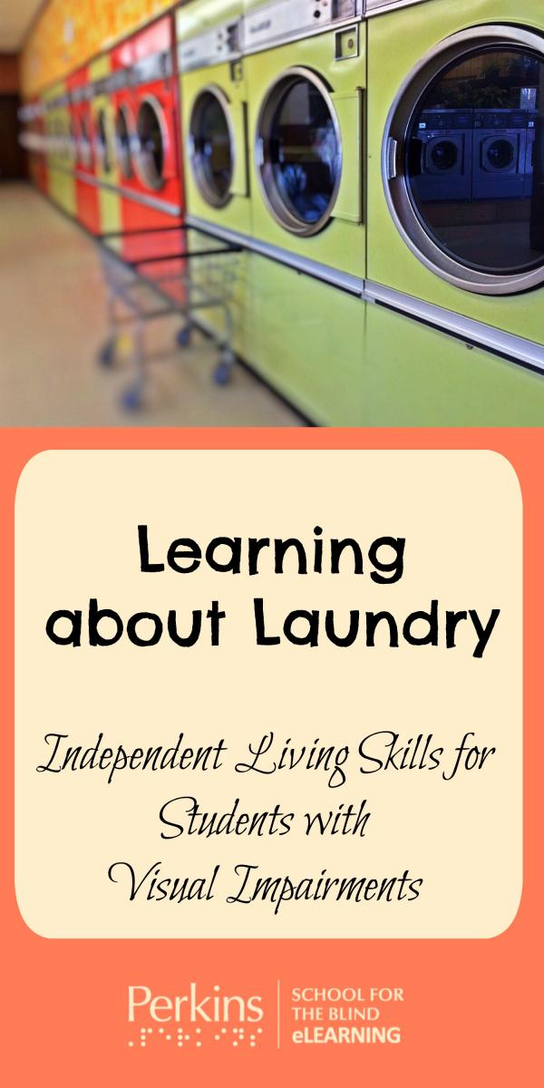 Collage of learning to do laundry