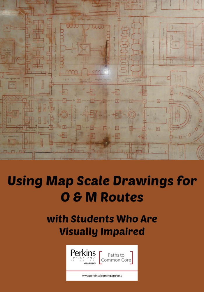 Collage of map scale drawings