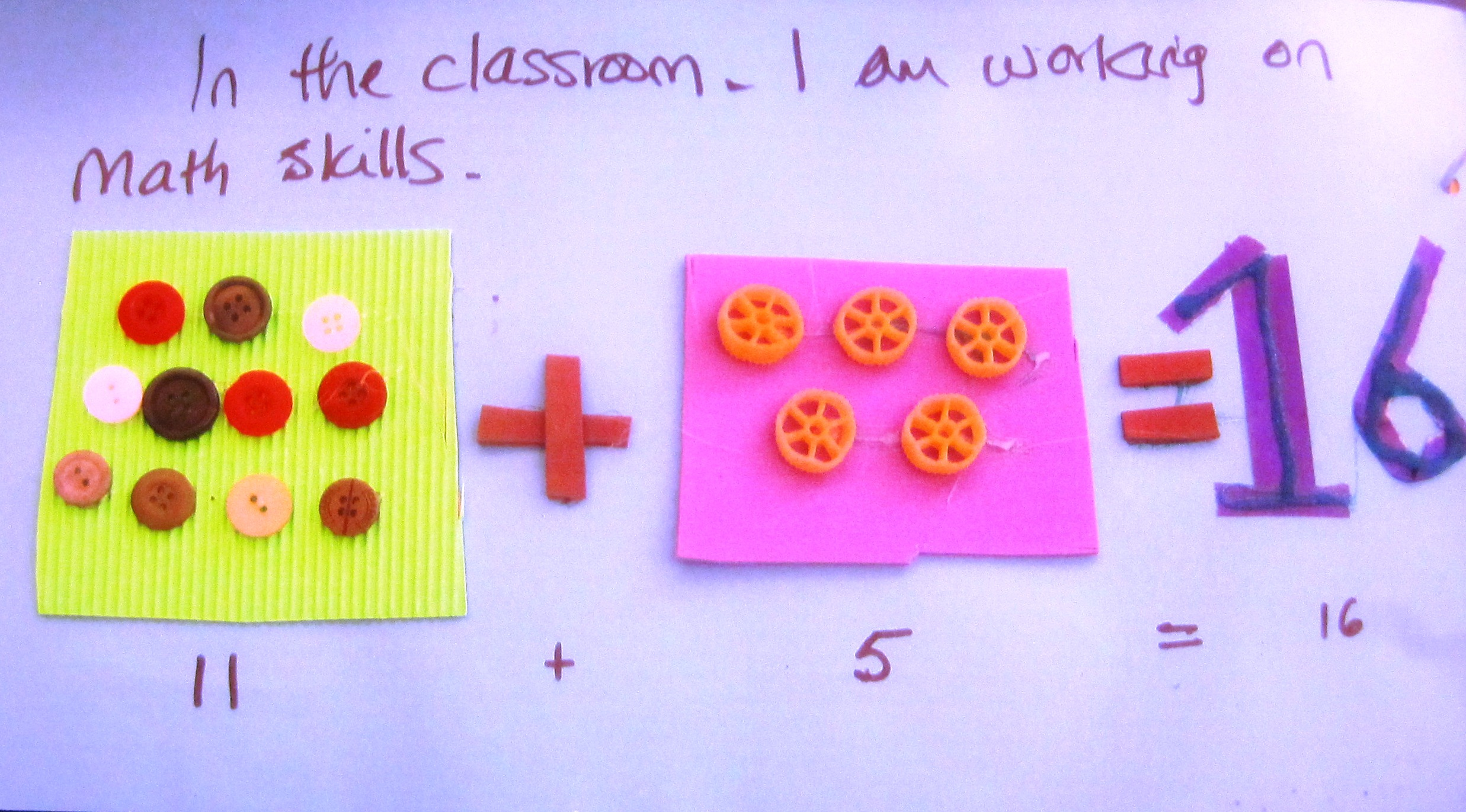 Tactile Journals As A Math Activity For Students Who Are