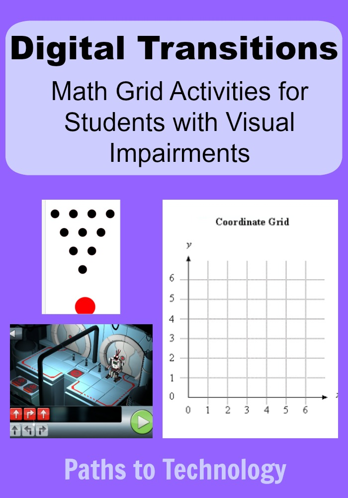 Collage of Math Grid activities
