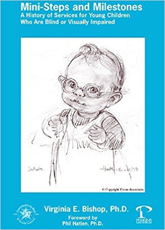 Sketch of a visually impaired toddler