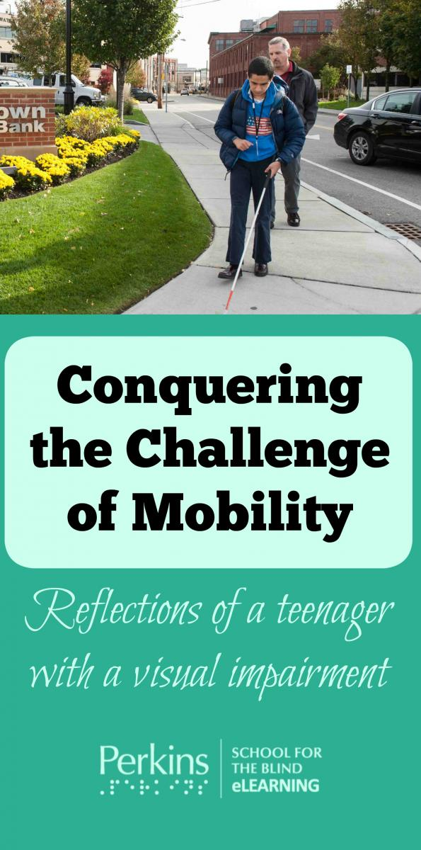Collage of mobility challenge