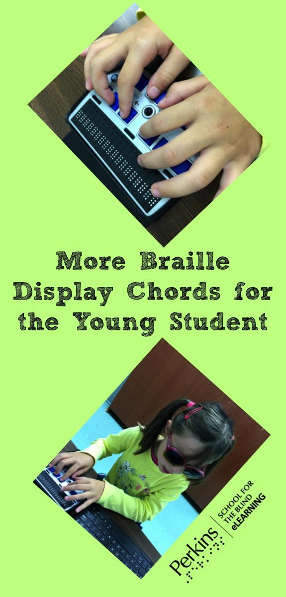 Collage for more braille chords