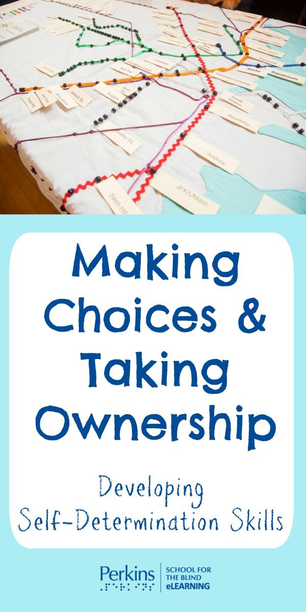 Collage for making choices and taking ownership
