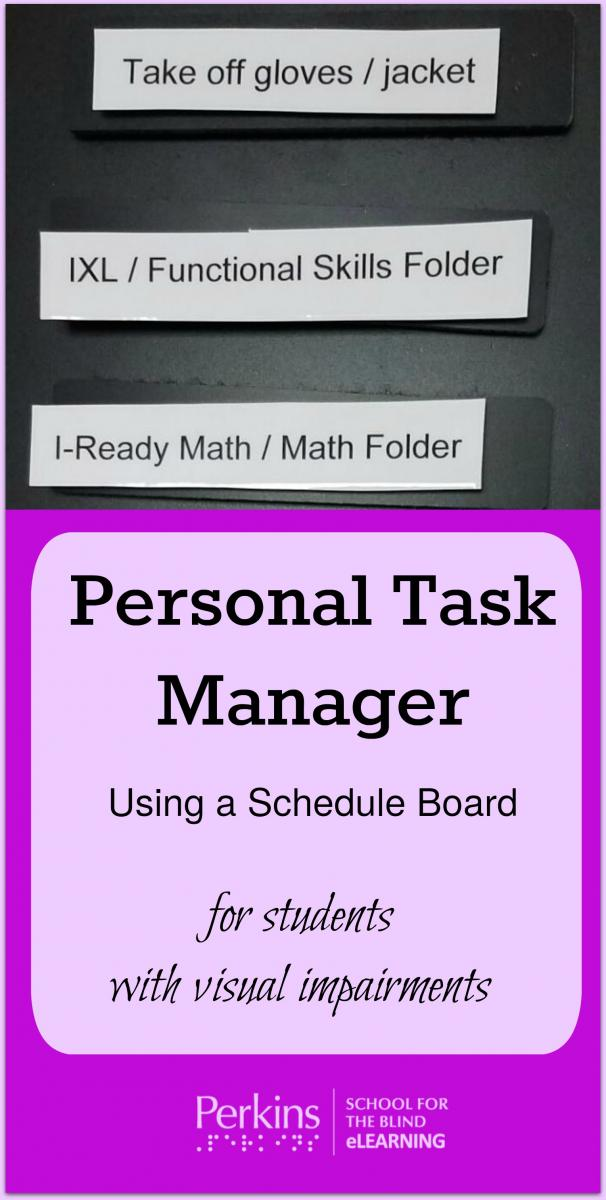 Collage for personal task manager