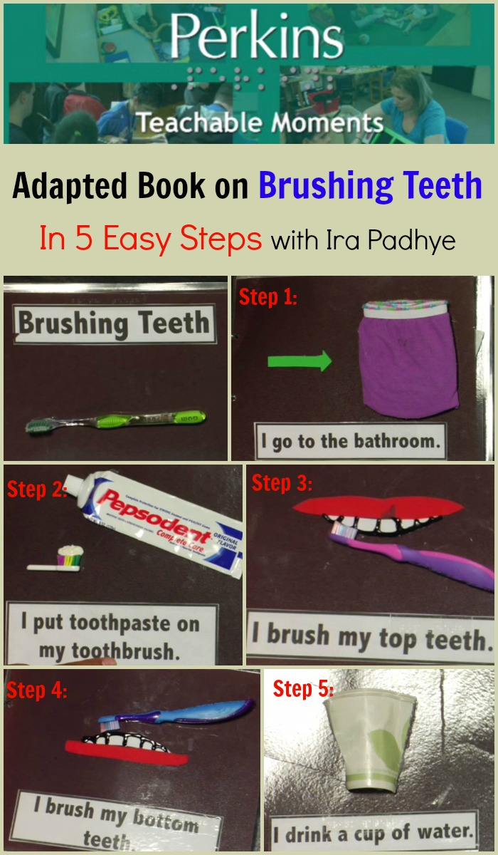 Ira Padhye talks about the social story she made about brushing teeth.