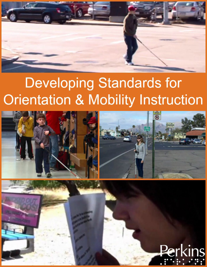 Mary Tellefson discusses the need for Developing Standards for Orientation and Mobility Instruction.