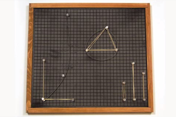 A photograph of a Graphic Aid for Mathematics.