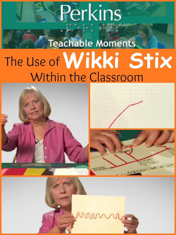 Kate Fraser talks about the use of Wikki Sticks within the classroom.
